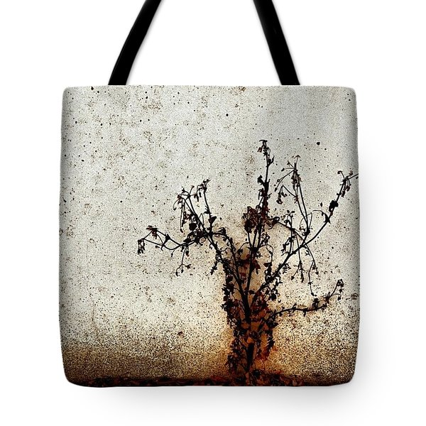 The Brown Plant Tote Bag by Jason Michael Roust