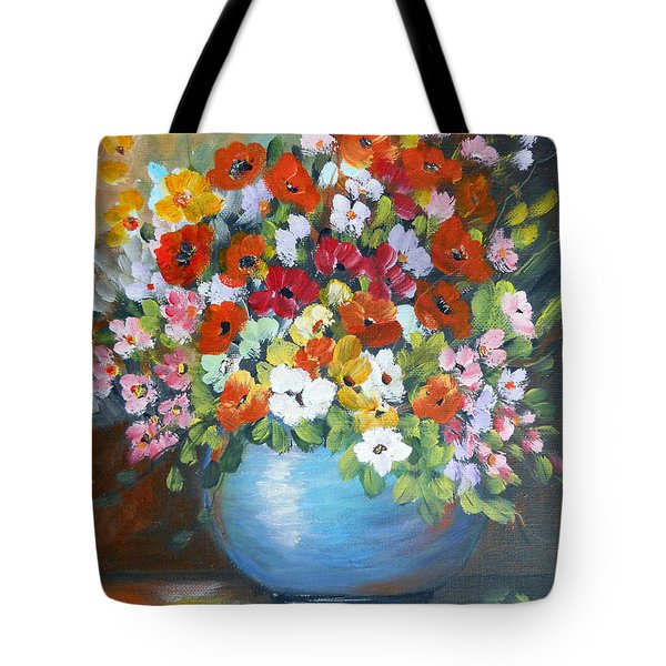Flowers For A Friend Tote Bag