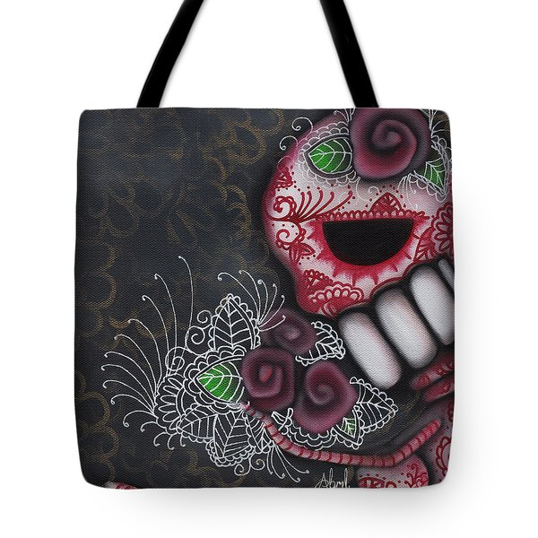 Flowers For The Dead II Tote Bag