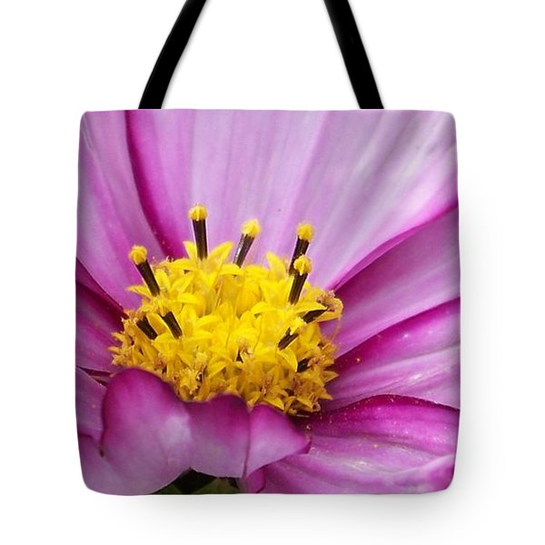 Flowers For The Wall Tote Bag by Eunice Miller