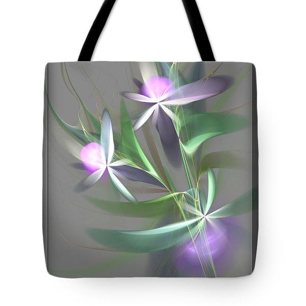 Flowers For You Tote Bag by Svetlana Nikolova