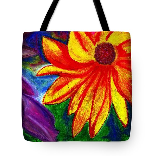 Flowers I Tote Bag by Carla Sa Fernandes