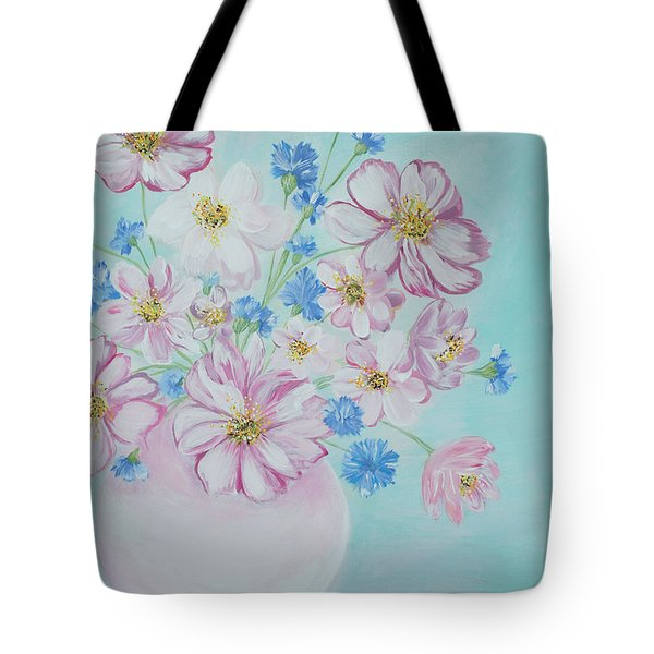 Flowers In A Vase. Inspirations Collection Tote Bag