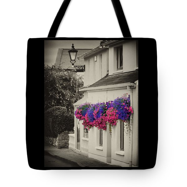 Flowers In Cashel Tote Bag