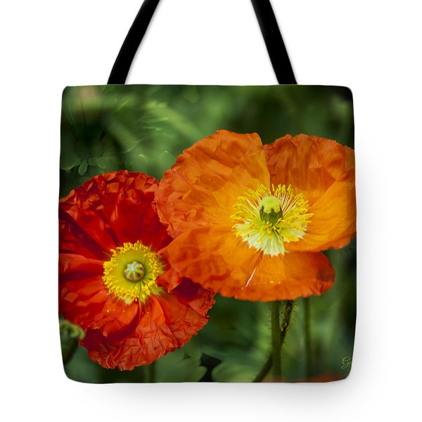 Flowers In Kodakchrome Tote Bag