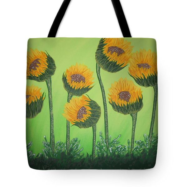 Flowers In Menopause  Tote Bag