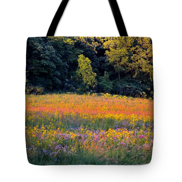 Flowers In The Meadow Tote Bag