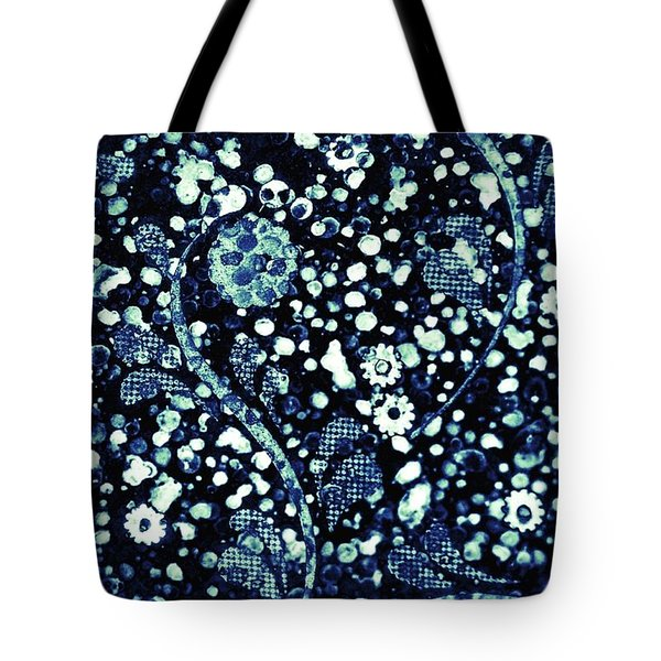 Flowers In The Rubble Tote Bag by Darla Wood