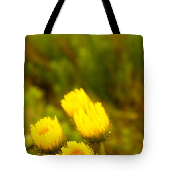 Flowers In The Wild Tote Bag by Alistair Lyne