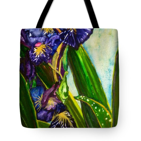 Flowers In Your Hair II Tote Bag