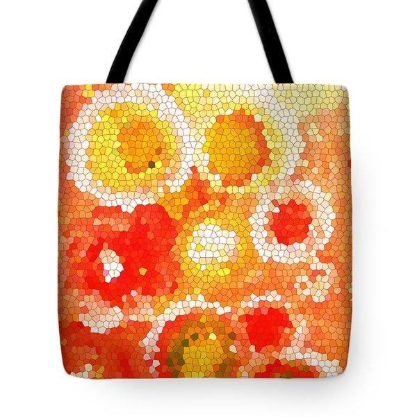 Flowers Iv Tote Bag by Patricia Awapara