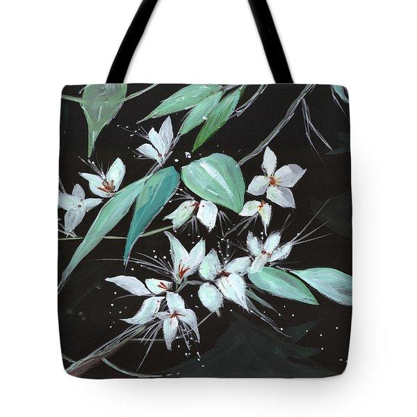 Flowers N Petals Tote Bag by Anil Nene