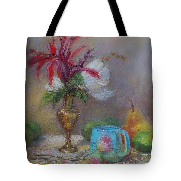 Flowers  Tote Bag by Nancy Stutes