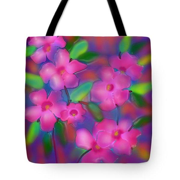 Flowers Of October Tote Bag by Latha Gokuldas Panicker