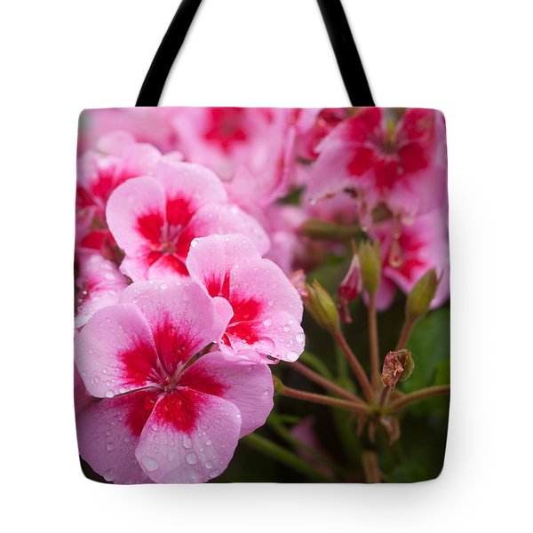 Flowers On A Rainy Sunday Afternoon Tote Bag