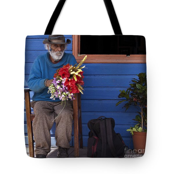 Flowers To Make A Living Tote Bag by Heiko Koehrer-Wagner