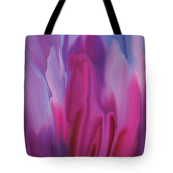 Flowery Tote Bag by Rabi Khan