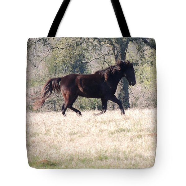 Flowing Beauty Tote Bag by Kim Pate