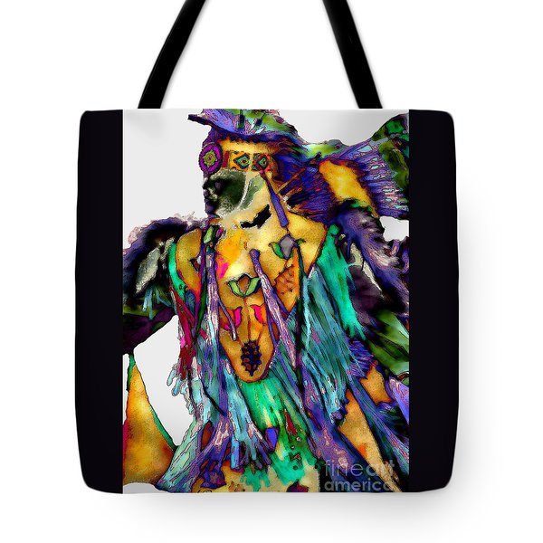 Flowing Feathers Tote Bag by Linda  Parker