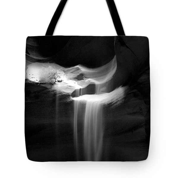 Flowing Sand In Antelope Canyon Tote Bag