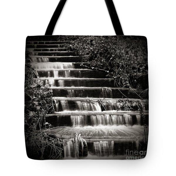 Flowing Stairs Tote Bag