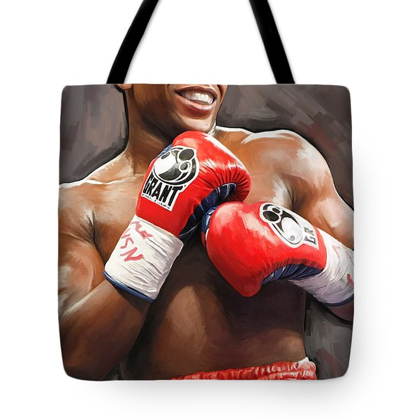 Floyd Mayweather Artwork Tote Bag