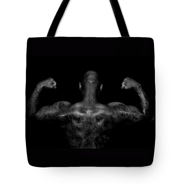 Body Art Tote Bag