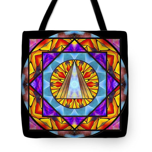 Fluid Transformation Tote Bag