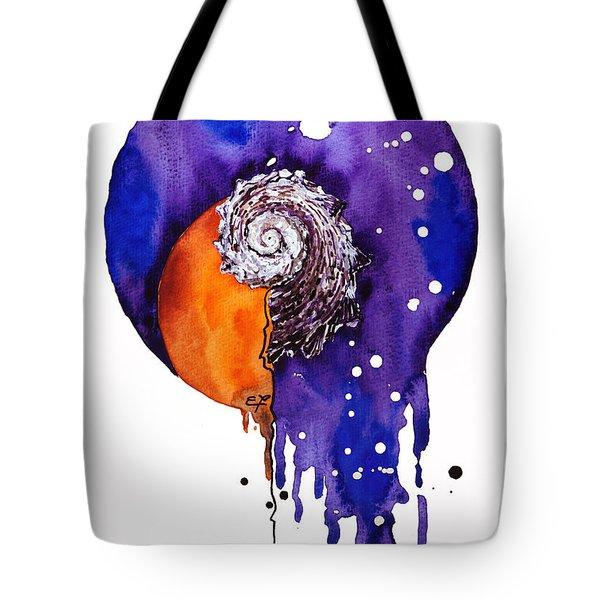 Fluidity 16 - Mollusc Shell - Elena Yakubovich Tote Bag by Elena Yakubovich