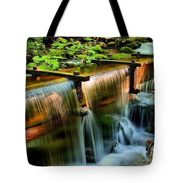 Flume Overflow  Tote Bag