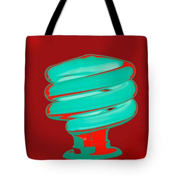 Fluorescent Green Tote Bag