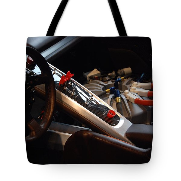 Tote Bag featuring the photograph Flux Capacitor by John Schneider