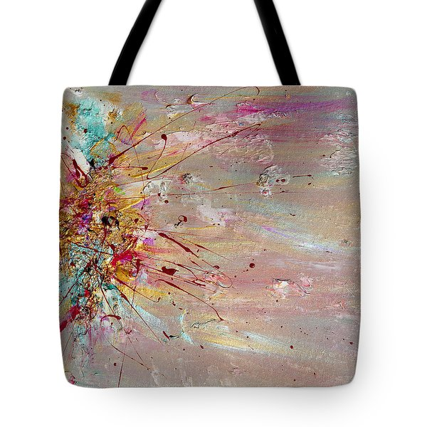 Fly Away Abstract Painting Tote Bag