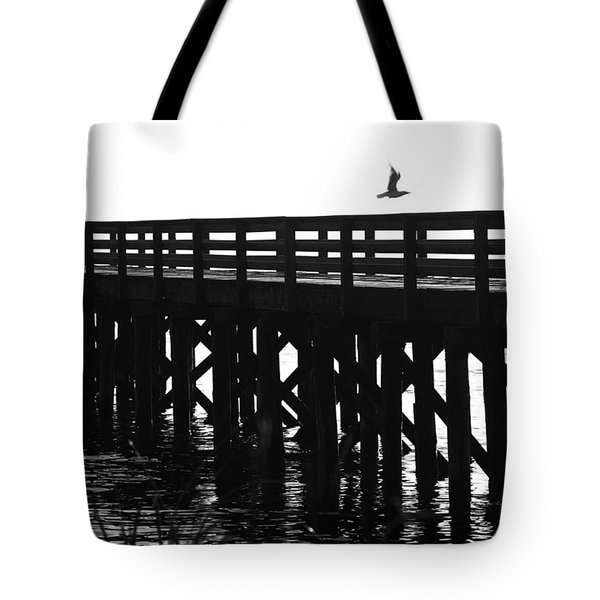 Tote Bag featuring the photograph Fly Away by Sonya Lang