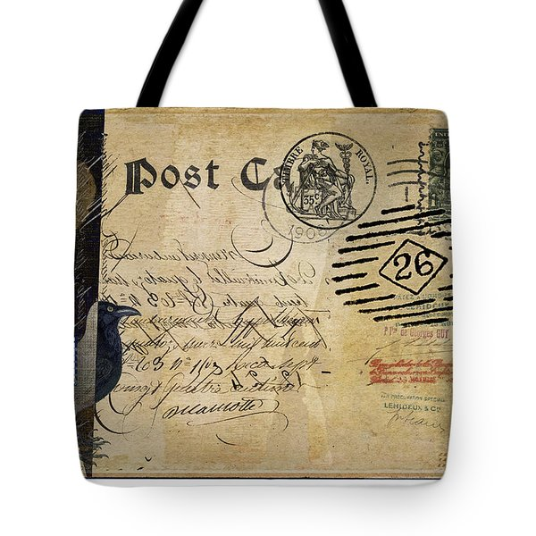 Fly By Night Mail Tote Bag