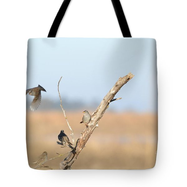 Fly Bye Tote Bag by Laurianna Taylor