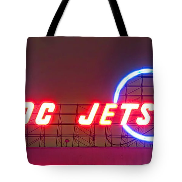 Fly Dc Jets Tote Bag