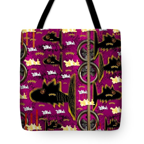 Fly Fish Pop Art Tote Bag by Pepita Selles