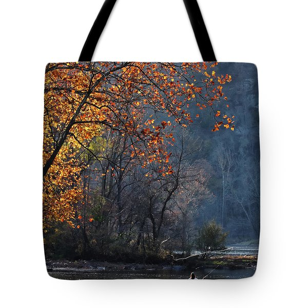 Fly Fisherwoman Tote Bag
