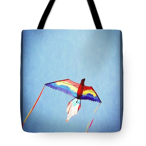 Fly Free Tote Bag by Jamie Johnson