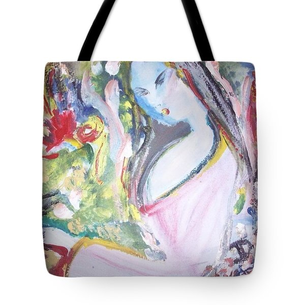 Fly Free Tote Bag by Judith Desrosiers
