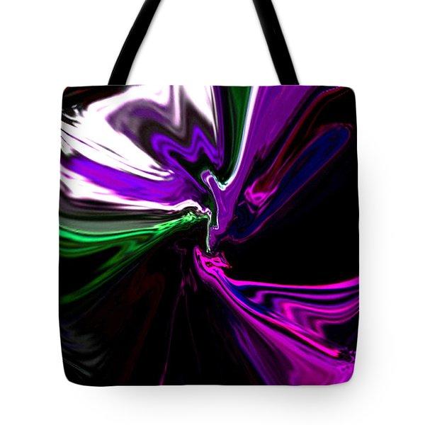 Purple Rain Homage To Prince Original Abstract Art Painting Tote Bag