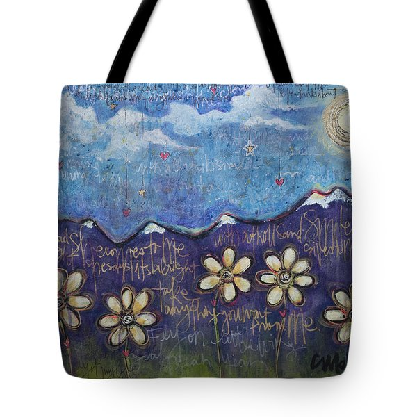 Fly On My Love Tote Bag