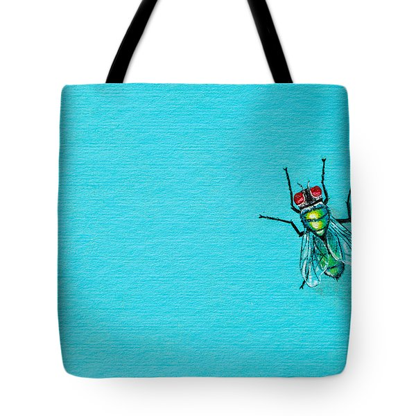 Fly On The Wall Tote Bag by Stefanie Forck