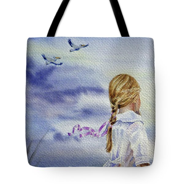 Fly With Us Tote Bag