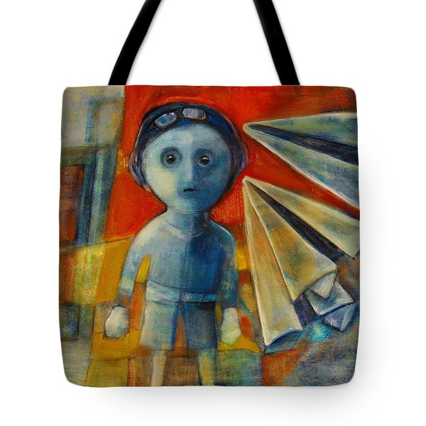 Flyboy Tote Bag by Jean Cormier