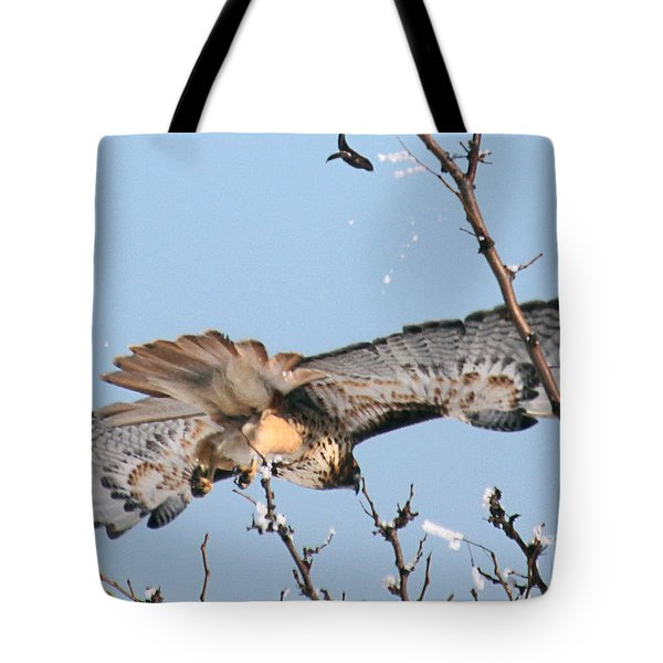 Flyby Tote Bag by Bob Hislop