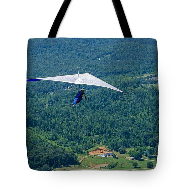 Tote Bag featuring the photograph Flyin High by Susan  McMenamin
