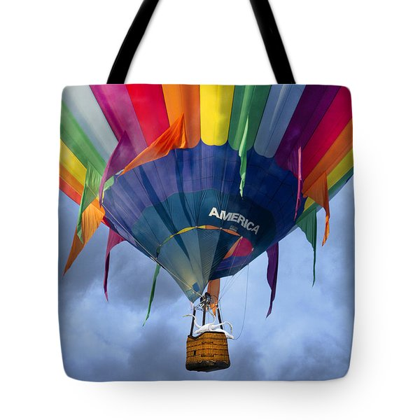 Flyin The Coop II Tote Bag by Betsy Knapp