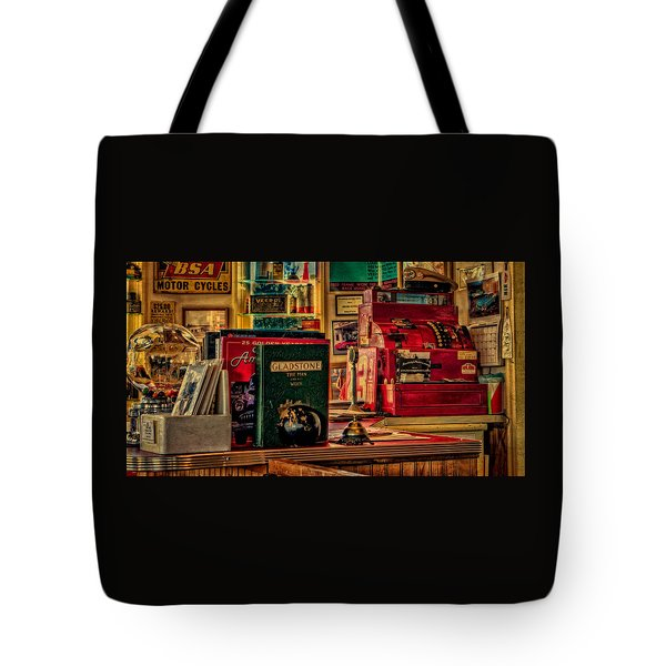 Flying A Service Station Office Tote Bag